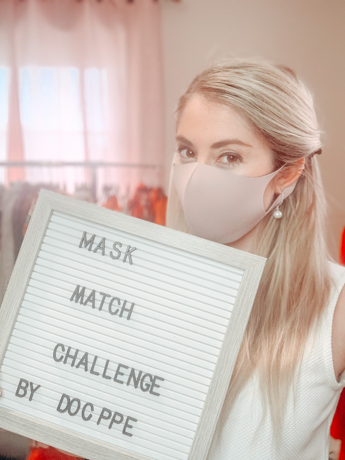#StayHomeSeries MASK. MATCH. CHALLENGE!